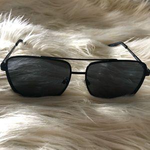 e2c111d5f7 Quay Australia Mens Modern Times 57mm sunglasses